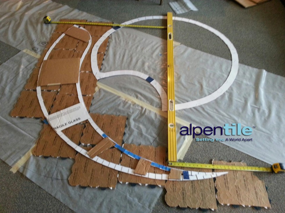 Alpentile Template Stair