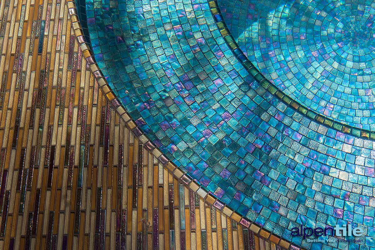Moving Color Tiles Alpentile Glass Tile Swimming Pools