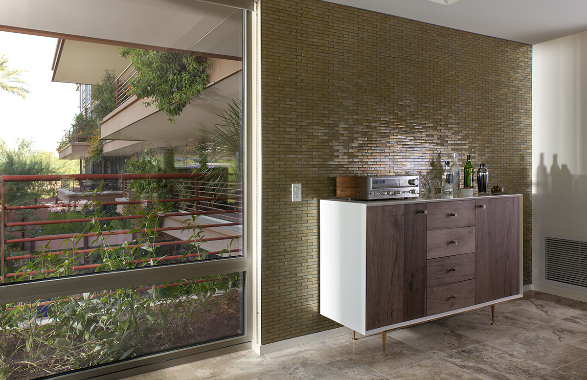 Testimonials alpentile glass tile pools and spas for Green feature wall