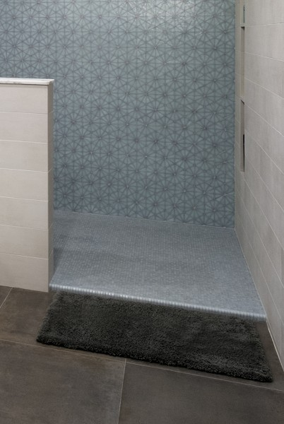 Micro Curb Shower Entry