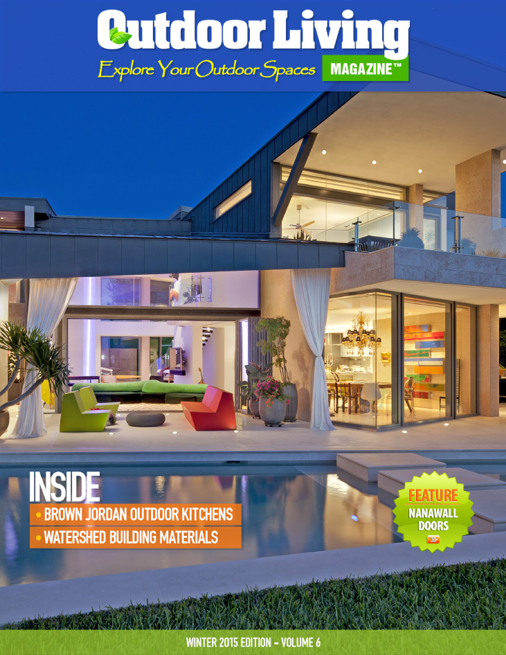 Outdoor living magazine winter 2015 alpentile glass for Outdoor living magazine